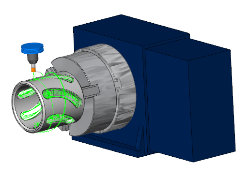 Cad Cam 4 Axis Wrapping And Cnc Machining