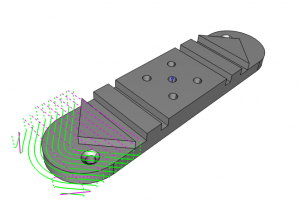 Adaptive Toolpath CAD-CAM for CNC Programming