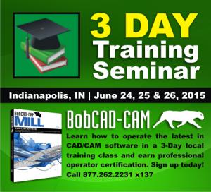 CNC CAD-CAM Software Training Seminars Indianapolis Indiana