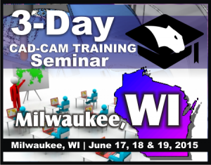 CNC CAD CAM Programming Software Training Seminar Milwaukee WI