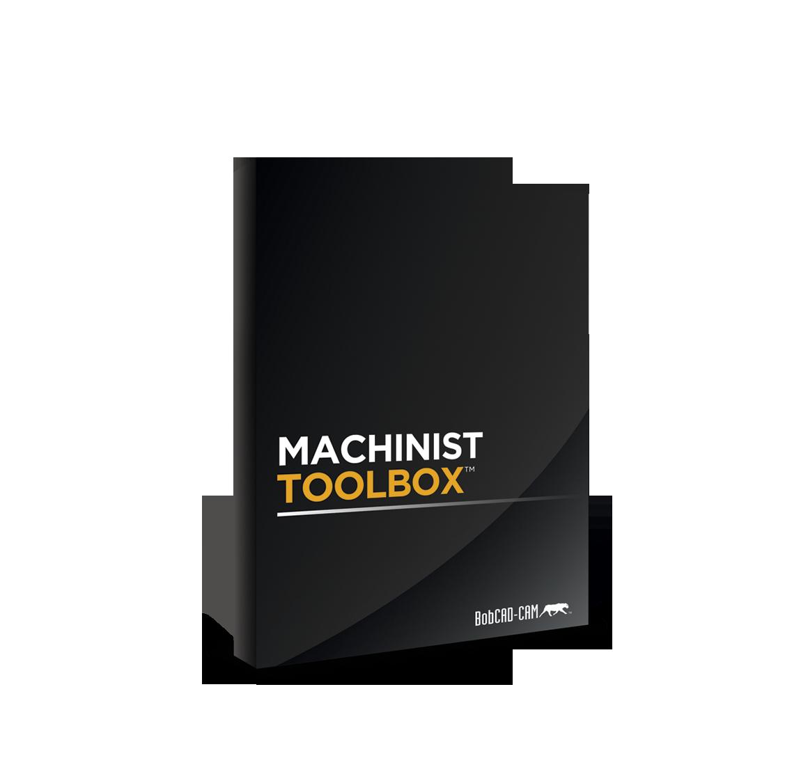 Machinist Toolbox CAD/CAM Software Box Art