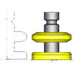 Custom Tool Shapes for Milling Tools