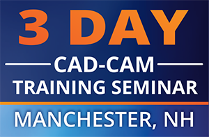3 Day CAD-CAM Training Seminar Manchester NH Small Feature