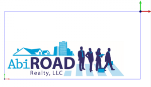 Sign Making Logo Abi Road Realty LLC Artistic CAD-CAM