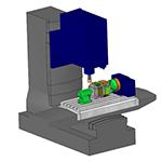 Solid Simulation with Machine Components