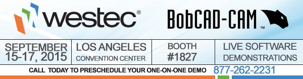 Westec BobCAD-CAM CNC Software