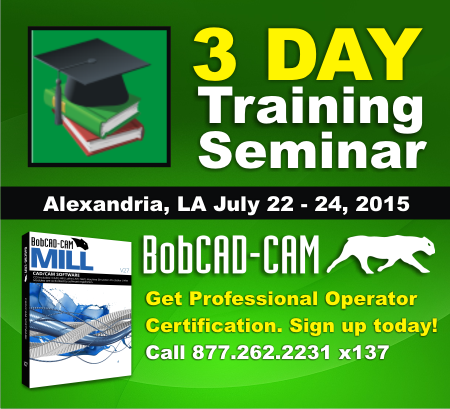 New CAD-CAM Training Seminar Comes to Alexandria, Louisiana in July