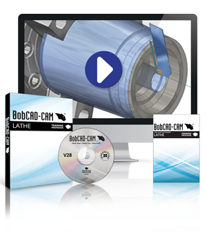 BobCAD-CAM V28 Lathe Training Professor