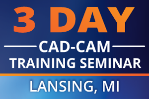 CNC Programming CAD-CAM Software 3 Day Training Seminar