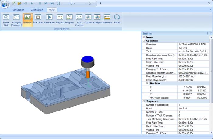 BobCAD-CAM V28 CAD-CAM Software Simulation