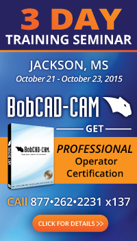 CAD-CAM for CNC Mill Programming Seminar Jackson, MS