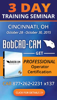 CNC Machine Programming Training Seminar in Cincinnati