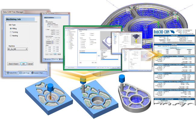 CAM Programming With Dynamic Machining Strategies of New CAD-CAM Software