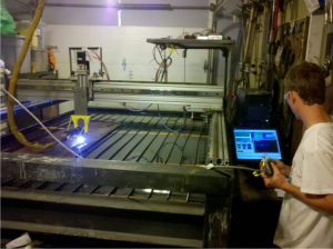 cnc-plasma machine with cad-cam