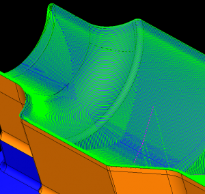 cad-cam high tolorance toolpath