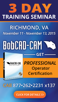 CAD-CAM Software for CNC Programming Training Seminar in Richmond