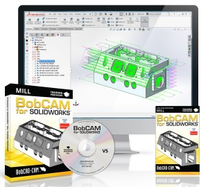 BobCAM for Solidworks V5 CNC Mill Machine Programming Training Set