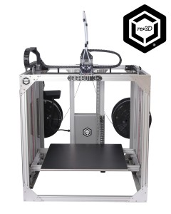 re:3D's Gigabot 3D Printer Built Using BobCAD-CAM CNC Programming Software