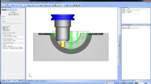 toolpath options in bobcad's cnc software