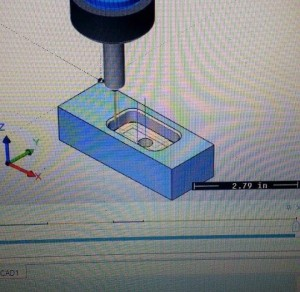 neco industries cnc machined part simulation with bobcad