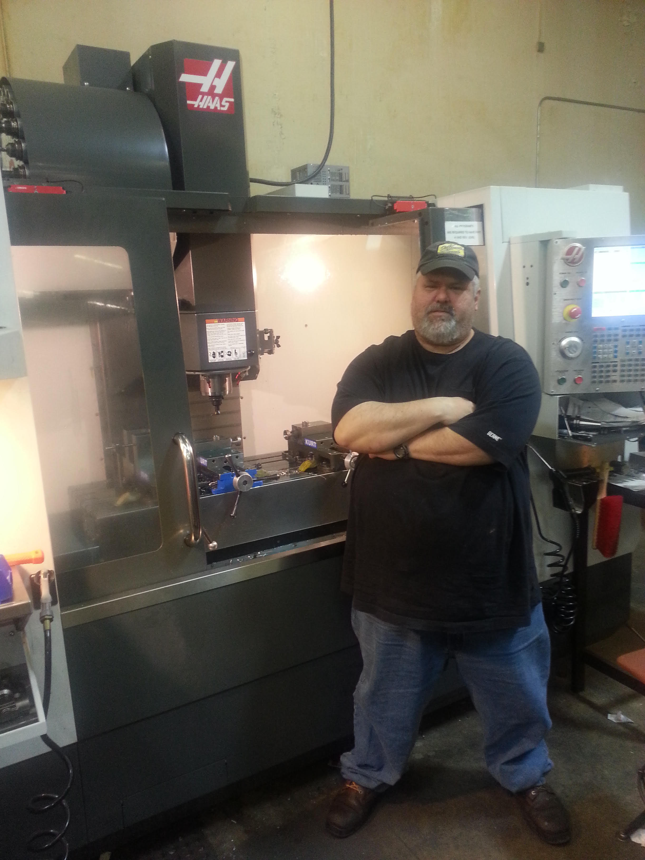 neco industries cnc programmer scott engel