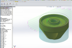 wax rax and bobcam for solidworks cnc machine toolpath