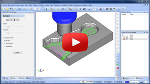 Link Back Feedrate for Adaptive Pocketing BobCAD-CAM CAD-CAM Quick Tip