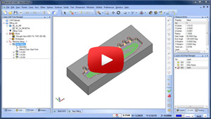 Rest Milling BobCAD-CAM CAD-CAM Quick Tip Video