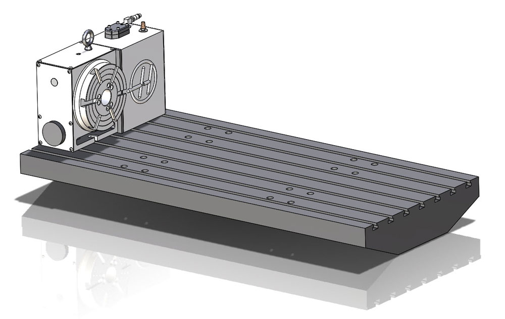 4 Axis CNC Milling Table