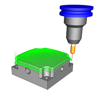 3 Axis Toolpath 1