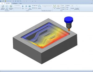 CAD-CAM Software for 2D and 3D CNC Machine Programming