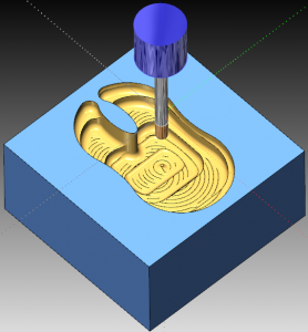 Advanced Roughing Down in Z Axis