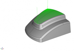 surface based toolpath