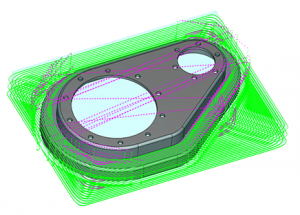 bobcad cnc software toolpath & part