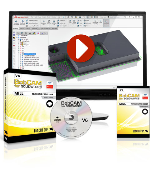 BobCAM for SOLIDWORKS V6 Training Professor