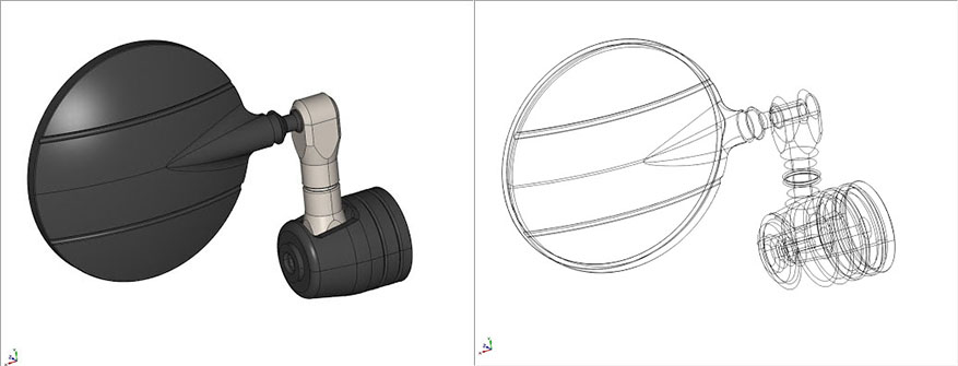 Solid extract in CAD-CAM