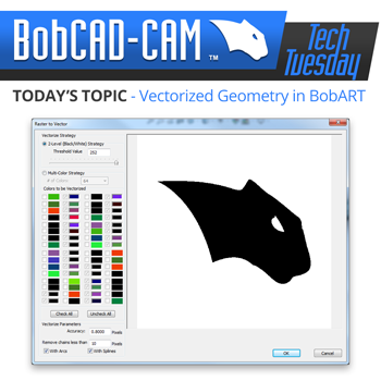 Tech Tuesday: Turning Pictures into Vectorized Geometry in BobART