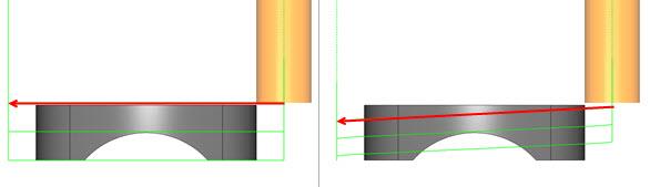gradual for each contour