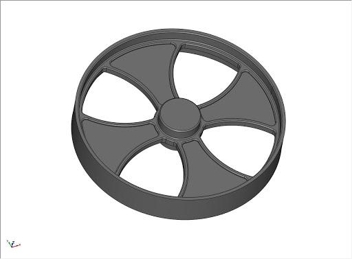 CAD wheel design