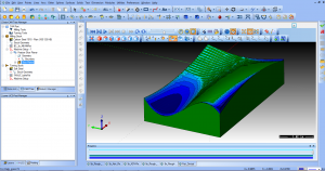 CAD-CAM feature - CAM Deviation analysis