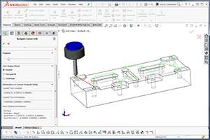 BobCAD-CAM's CAM software enhancements - Machine Sequence for Drilling Operations