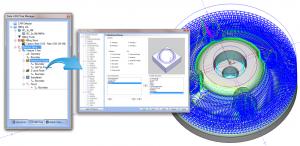 Dynamic CAD-CAM machining strategies
