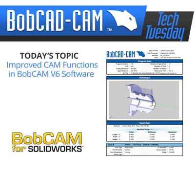 V6 CAM software CAM enhancements
