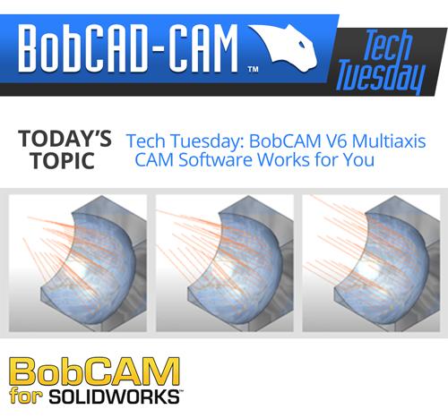 multiaxis CAM software for V6