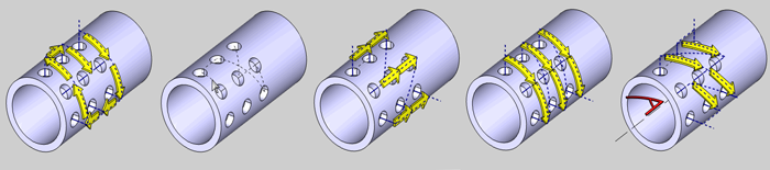 Drill sequence for BobCAM V6 multiaxis CNC software