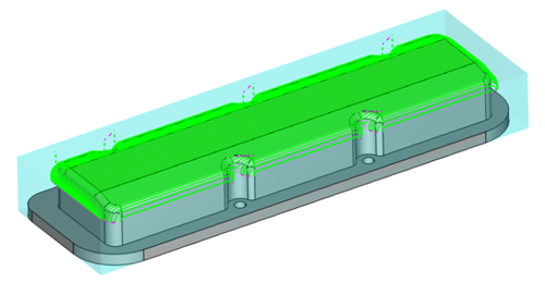 large scallop in cad-cam software