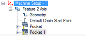 machine setup in cad-cam software