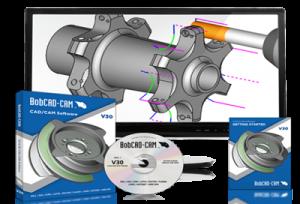 BobCAD-CAM's V30 cad-cam software