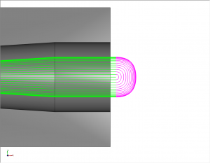 blended spline in CAM software