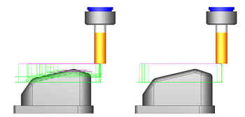 cad-cam step reduction cycle